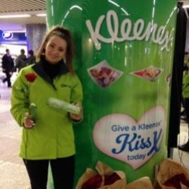 Kleenex Valentines Experiential Campaign