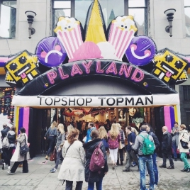 Topshop Playland Activation