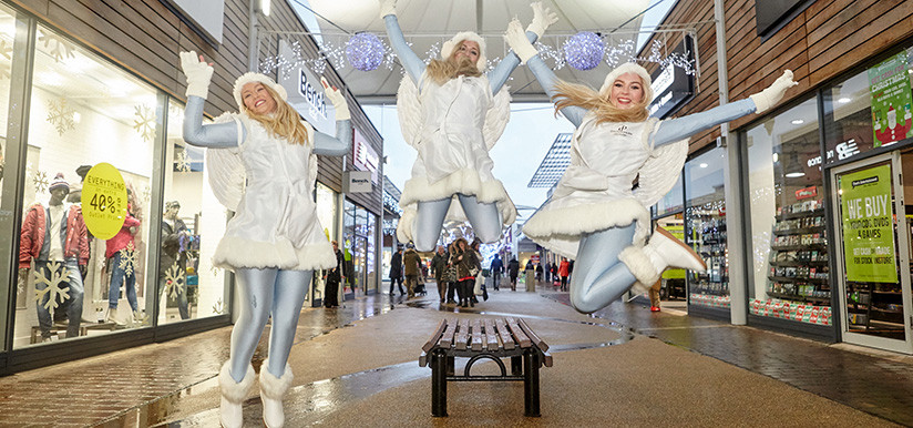 Shopping Centre Angels