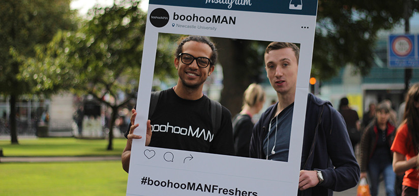 Boohoo.com Freshers Activation