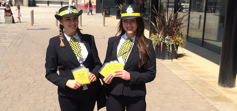 Dalton Park Traffic Warden Activation