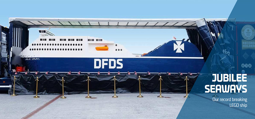 DFDS Giant LEGO Ferry