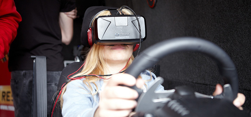 Oculus Rift Road Safety