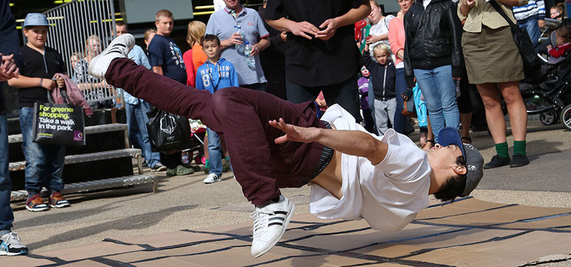 Breakdancer Dalton Park