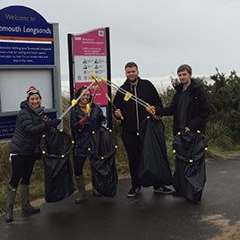 IE Litter Pick