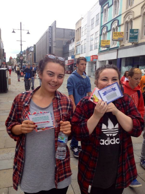 Experiential marketing manchester