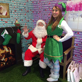 Eldon Garden Christmas Grotto Activation