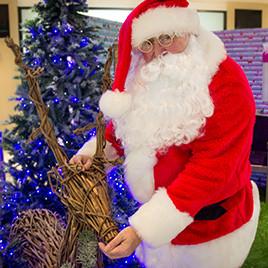 Santa At Eldon Garden