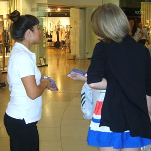 Sampling Exhibition Staff