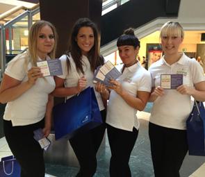 Leaflet Distribution Staff