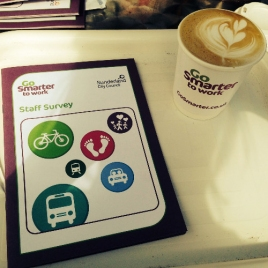 Go Smarter To Work Coffee Activation