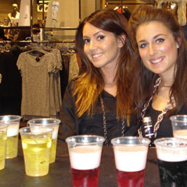 River Island Independent Events Student Shop In